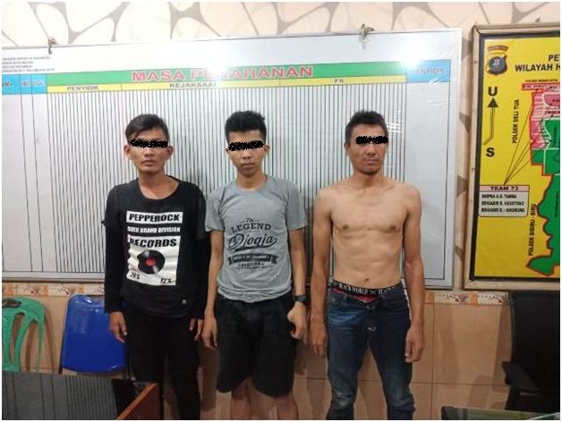 Polsek Patumbak Seser Daerah Rawan, Sejumlah Orang Diamankan